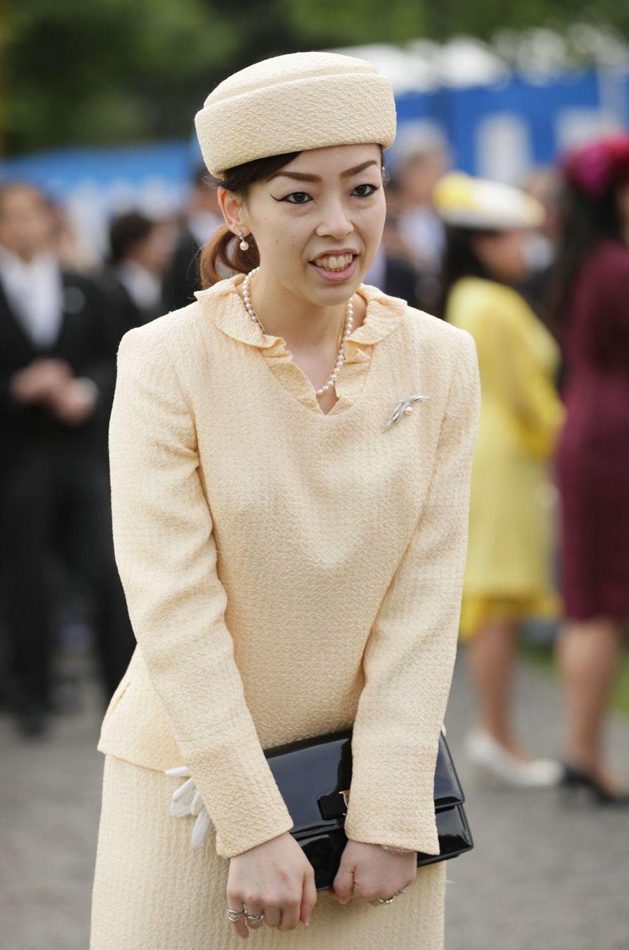 La princesse Yoko de Mikasa à Tokyo, le 25 avril 2018