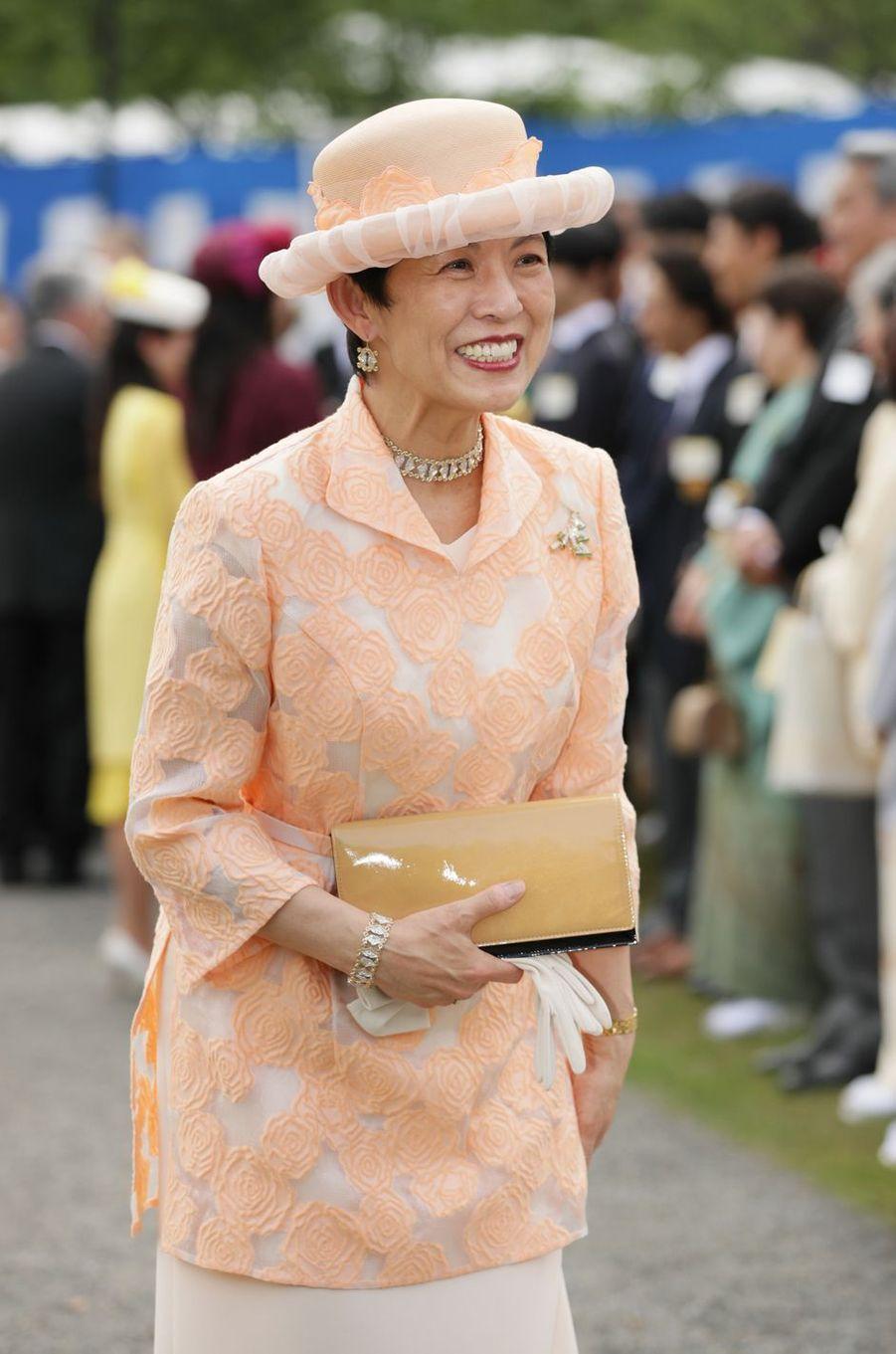 La princesse Hisako de Takamodo à Tokyo, le 25 avril 2018