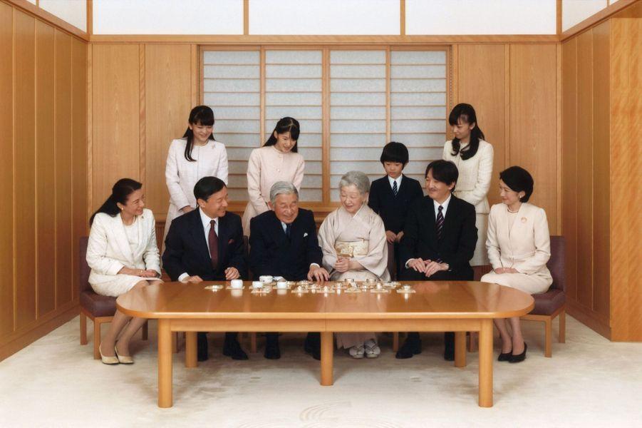 La Famille Impériale Du Japon Présente Ses Voeux 1
