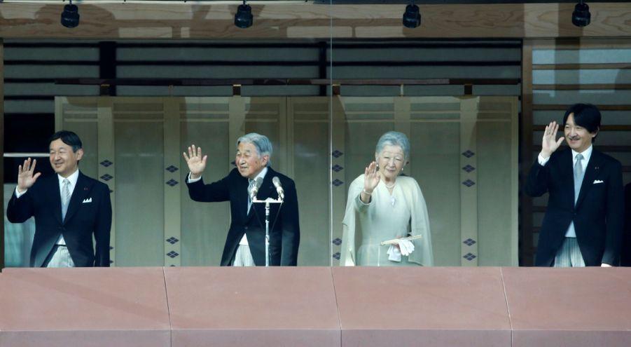 La Famille Impériale Du Japon Présente Ses Voeux 17