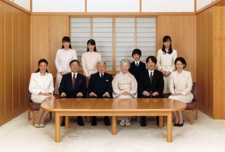 La Famille Impériale Du Japon Présente Ses Voeux 3