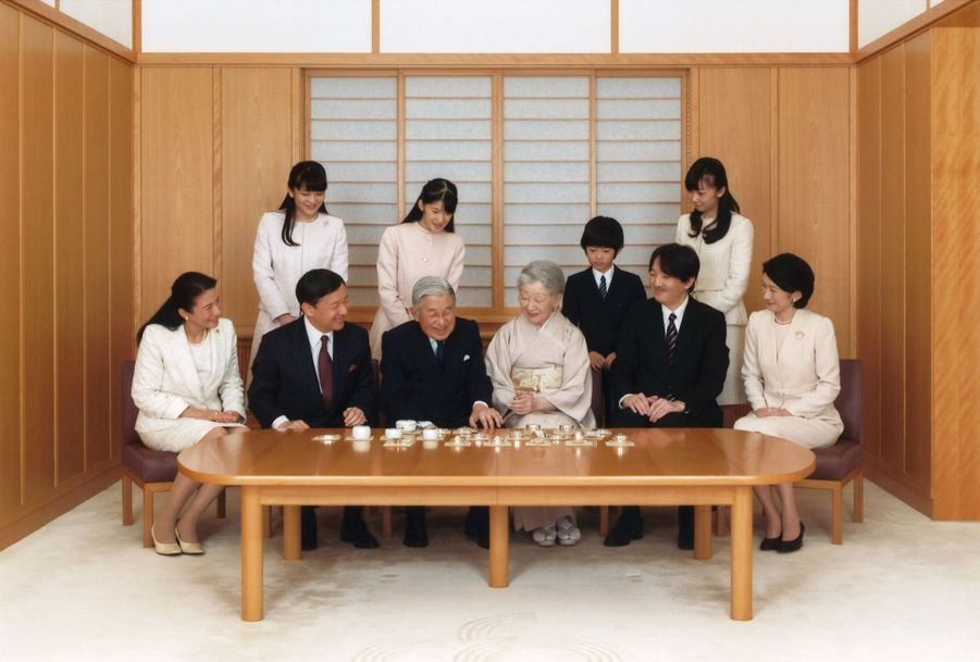 La Famille Impériale Du Japon Présente Ses Voeux 6