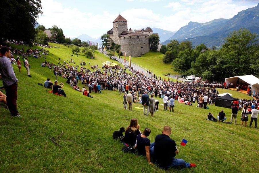 La Fête nationale à Vaduz, le 15 août 2019