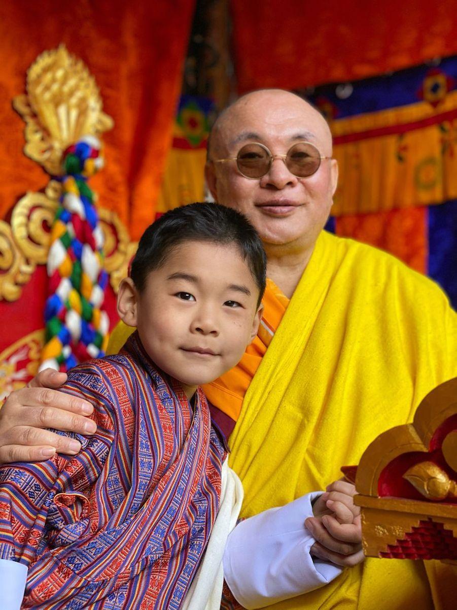 Le prince héritier du Bhoutan Jigme NamgyelWangchuck à Punakha, le 17 décembre 2020