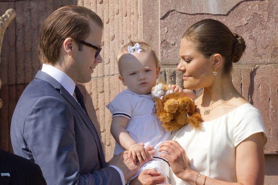Le premier discours de la petite Estelle de Suède
