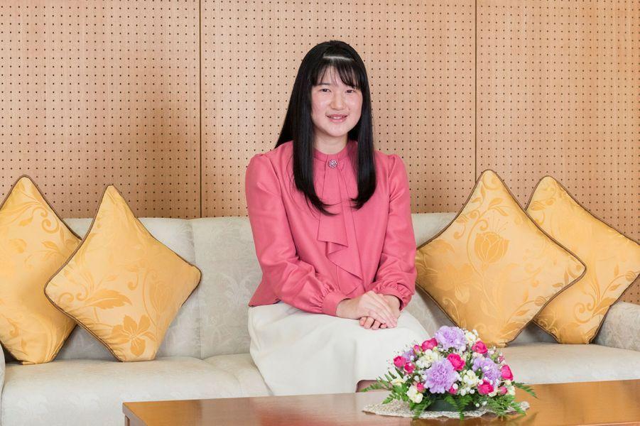La princesse Aiko du Japon. Photo réalisée le 25 novembre et diffusée le 1er décembre 2019 pour ses 18 ans