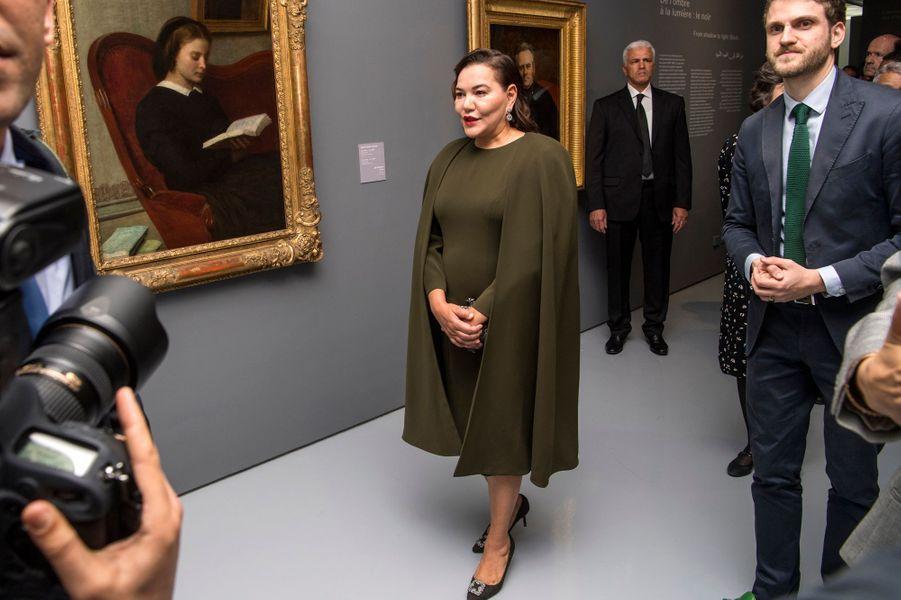 La princesse Lalla Hasnaa, soeur du roi Mohammed VI du Maroc, le 9 avril 2019 à Rabat