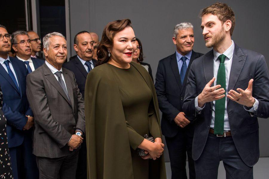 La princesse Lalla Hasnaa du Maroc à Rabat, le 9 avril 2019