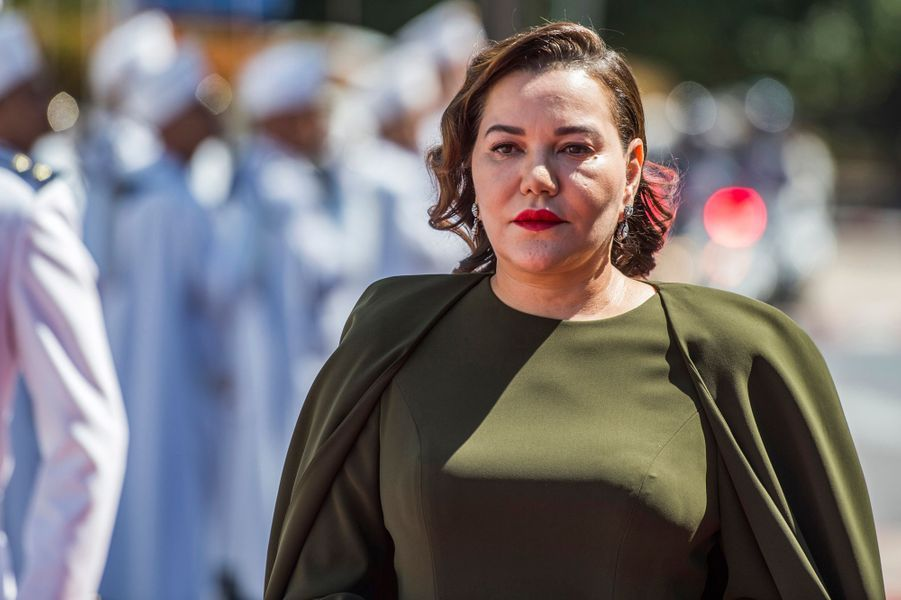 La princesse Lalla Hasnaa, soeur du roi Mohammed VI du Maroc, à Rabat le 9 avril 2019