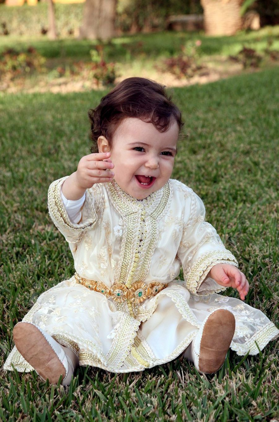 La princesse Lalla Khadija du Maroc, le 28 février 2008
