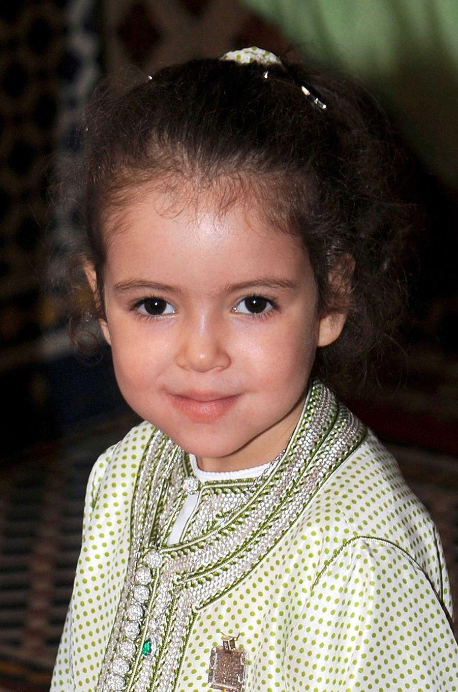 La princesse Lalla Khadija du Maroc, le 28 février 2010