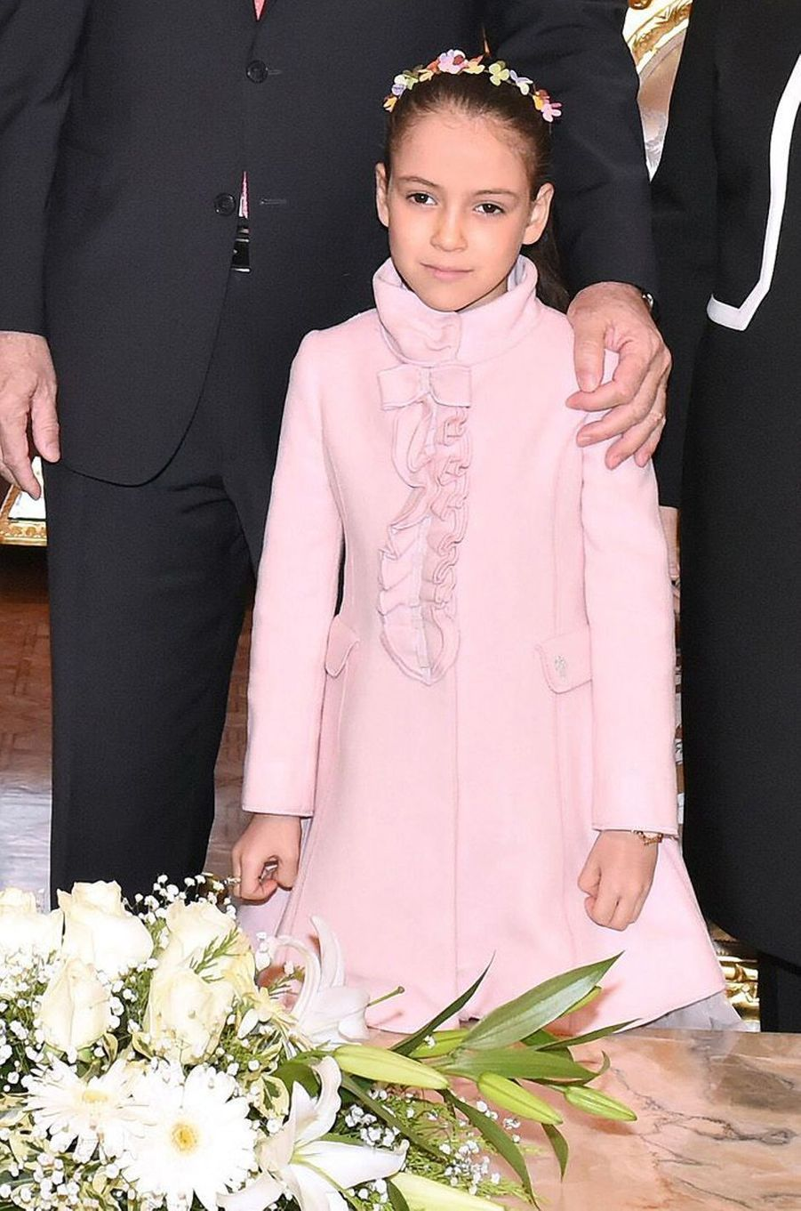 La princesse Lalla Khadija du Maroc, le 27 décembre 2014