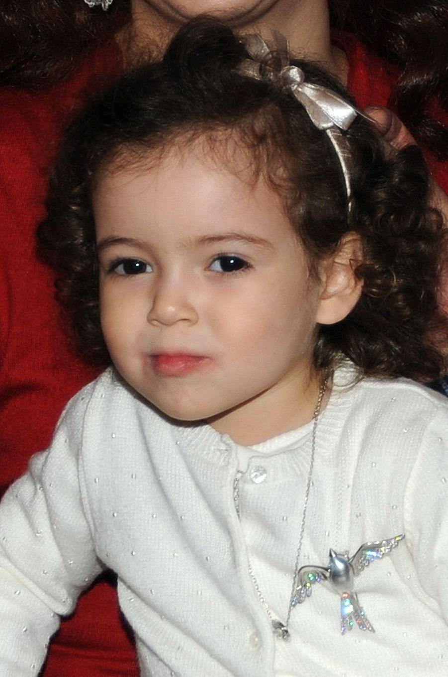 La princesse Lalla Khadija du Maroc, le 28 février 2009