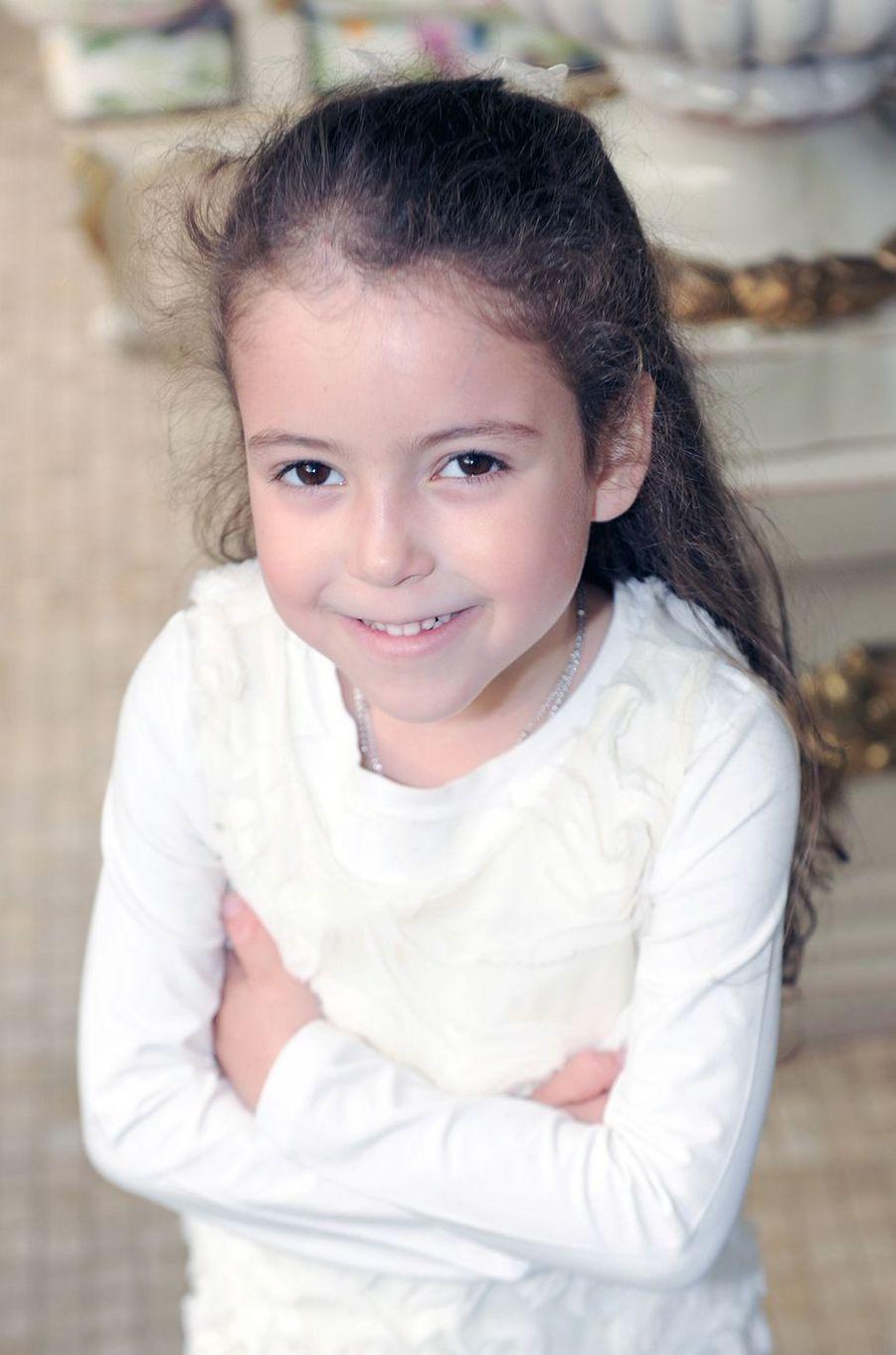 La princesse Lalla Khadija du Maroc, le 28 février 2012