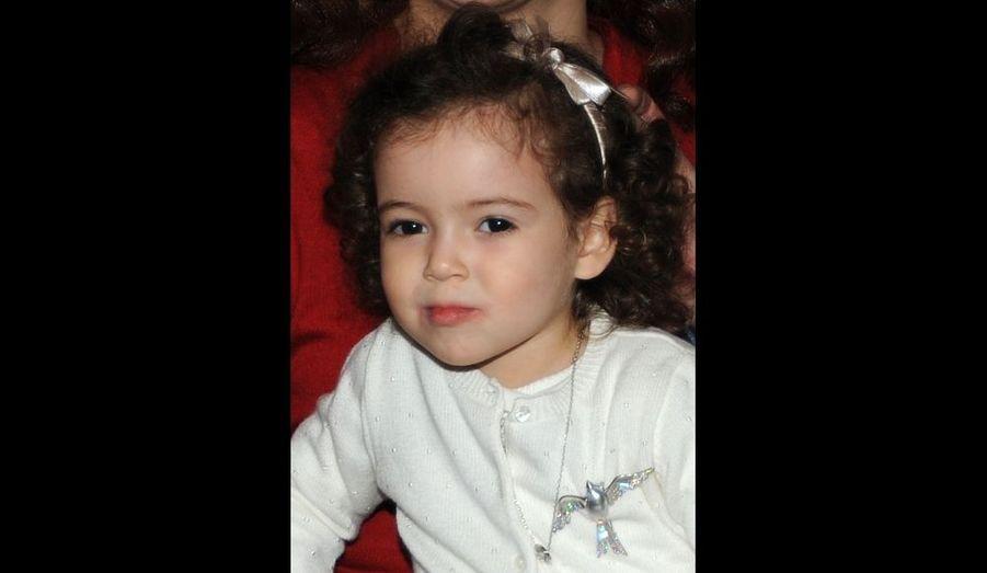 Lalla Khadija à deux ans