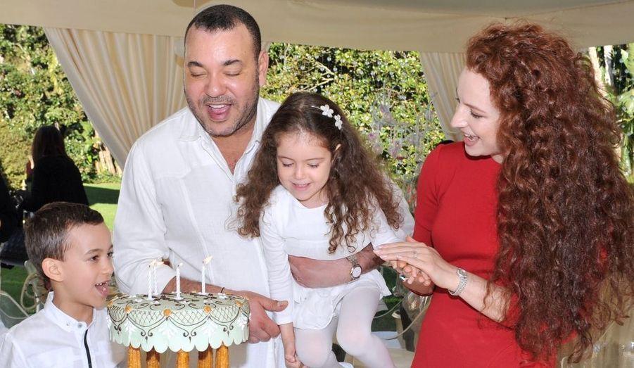 Lalla Khadija à son quatrième anniversaire