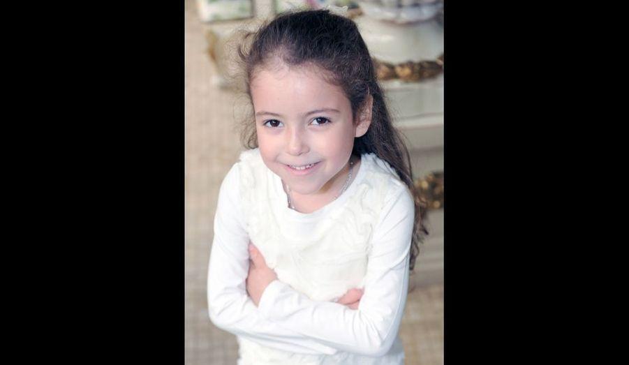 Lalla Lhadija à 5 ans