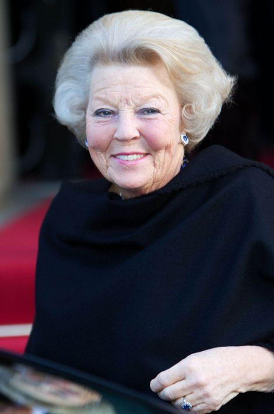 La princesse Beatrix des Pays-Bas au prix du prince Claus à Amsterdam, le 10 décembre 2014