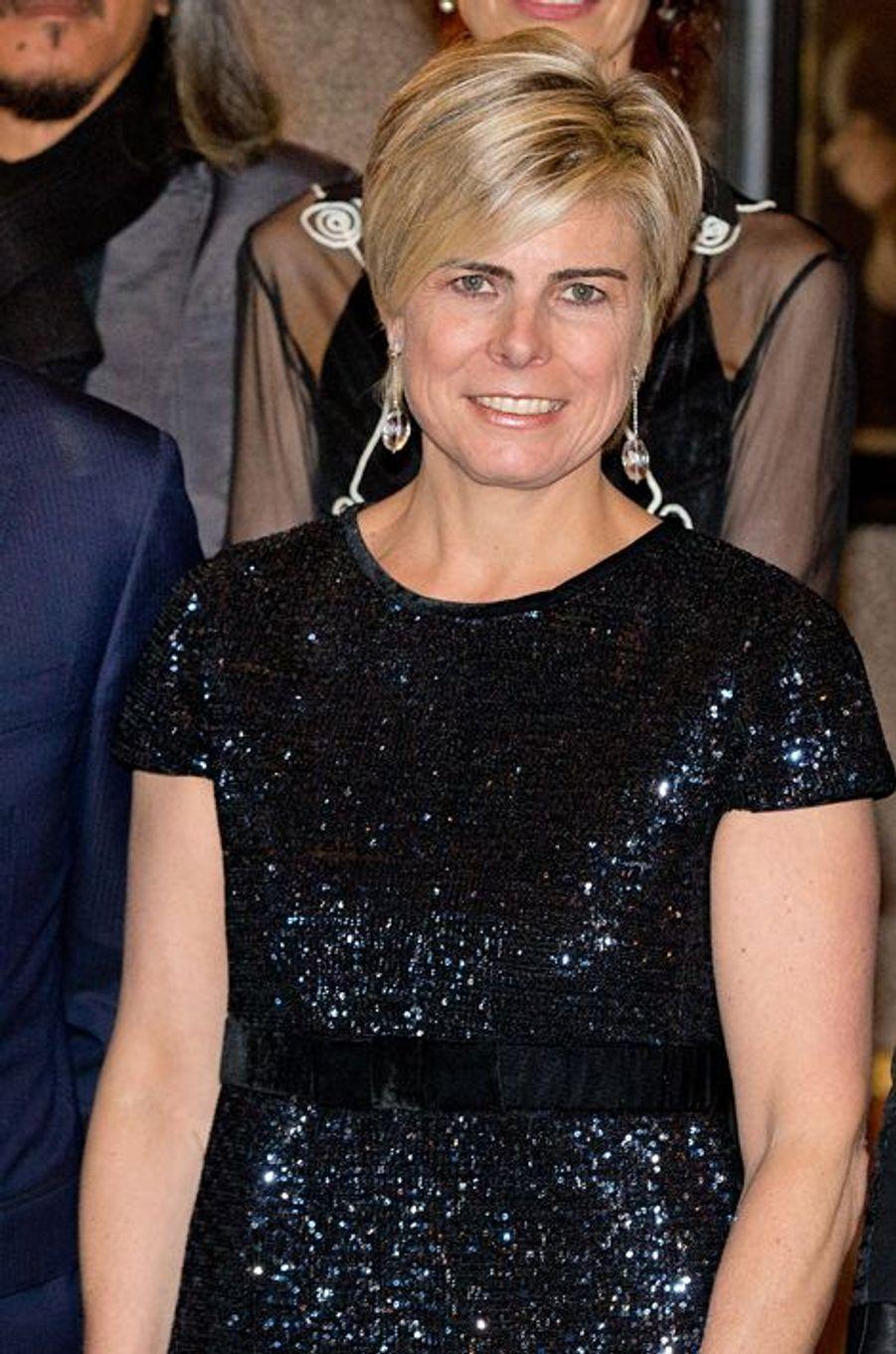 La princesse Laurentien des Pays-Bas au prix du prince Claus à Amsterdam, le 10 décembre 2014
