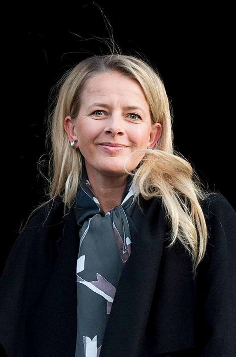 La princesse Mabel, au prix du prince Claus à Amsterdam, le 10 décembre 2014
