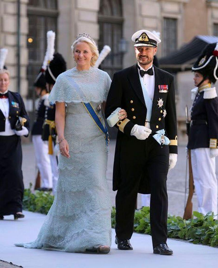 La princesse de Norvège Mette-Marit et le prince Haakon