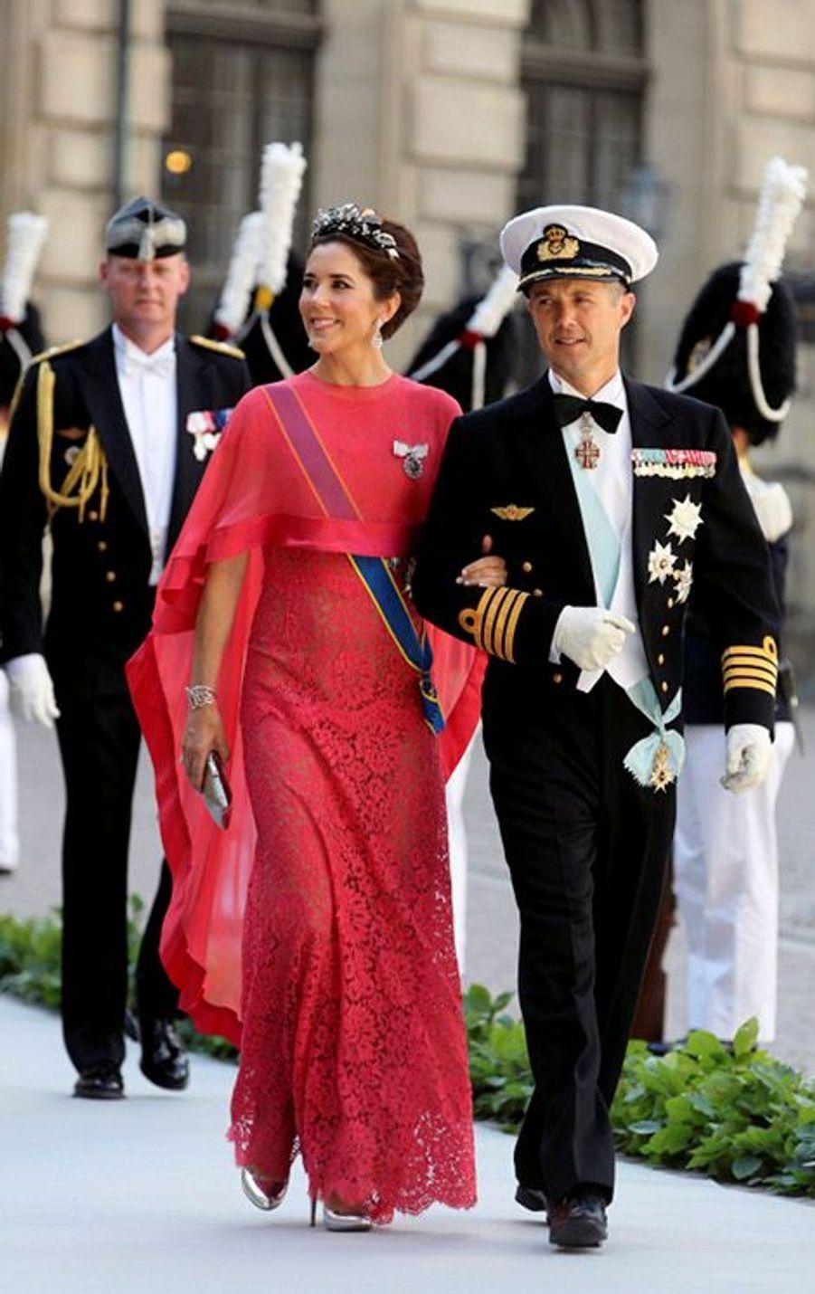 Le prince Frederik et la princesse Mary de Danemark