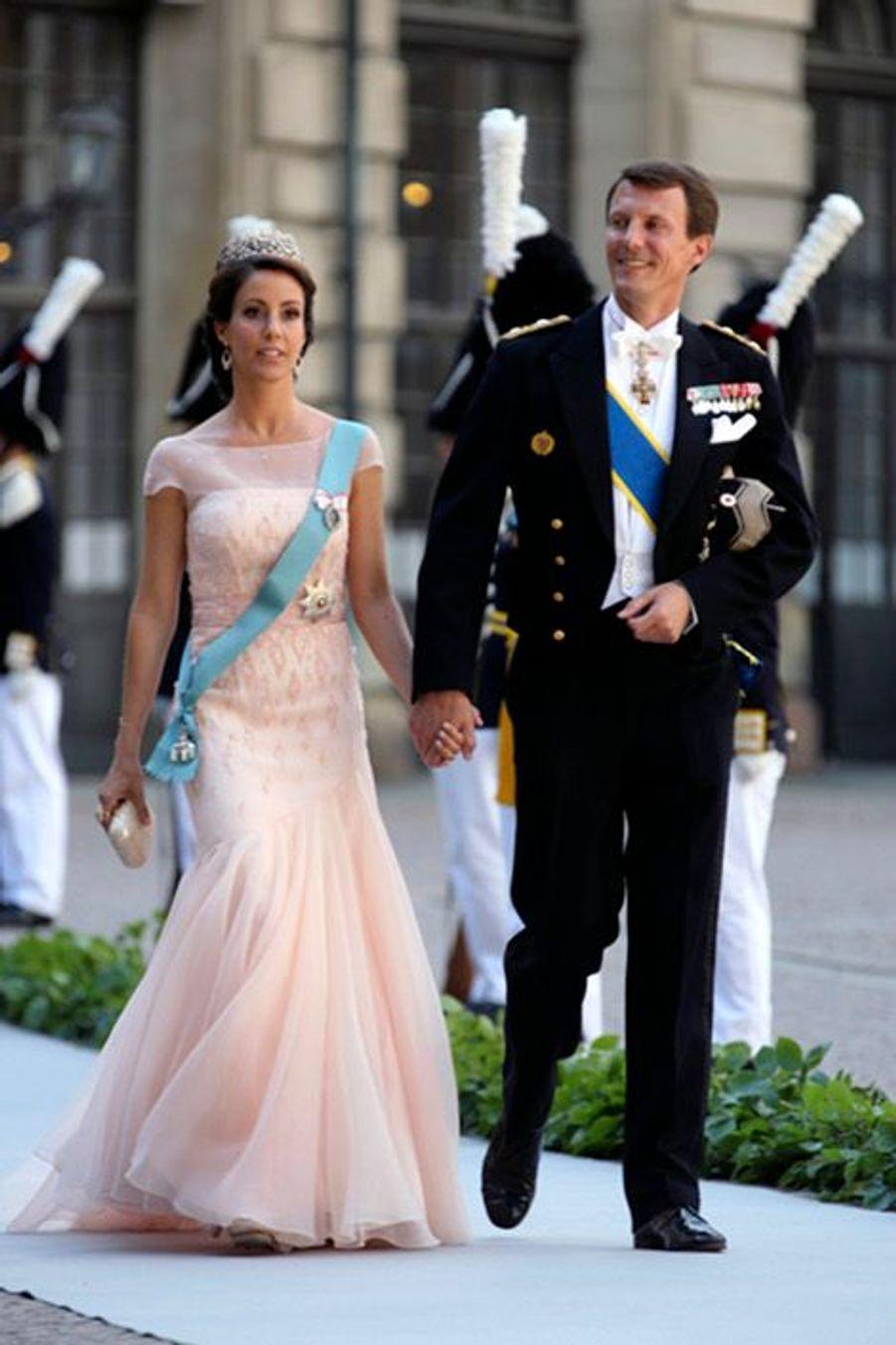 Le prince Joachim et la princesse Marie du Danemark