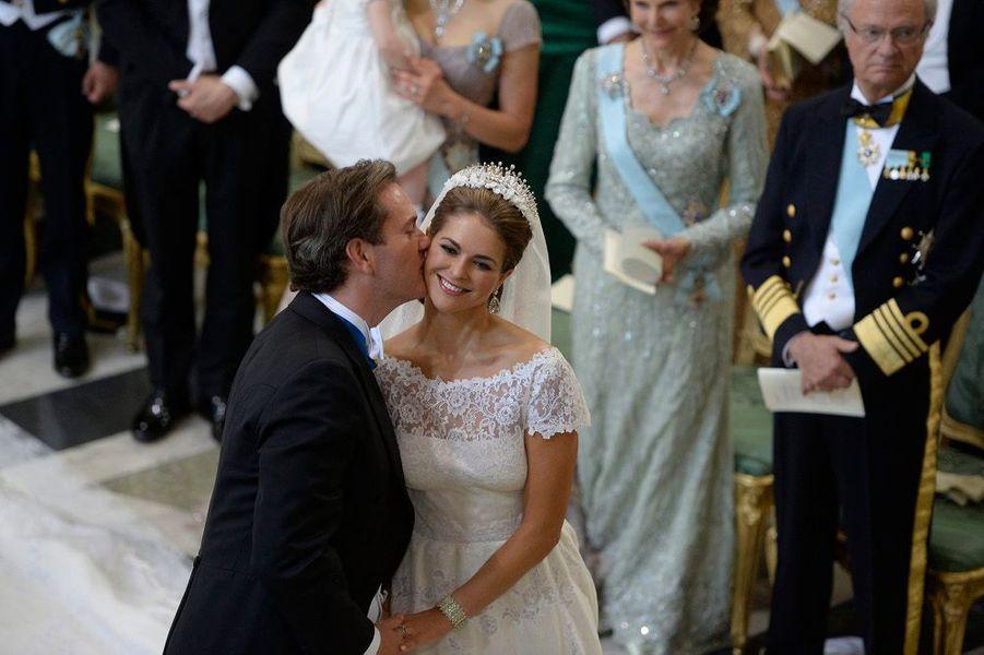 La princesse Madeleine a épousé son Chris