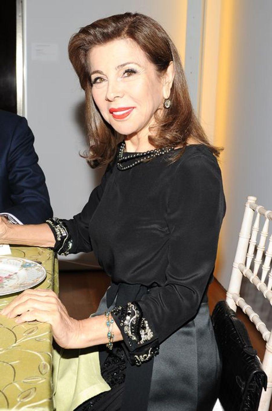 La princesse Firyal de Jordanie à la soirée Valentino à New York, le 9 novembre 2014