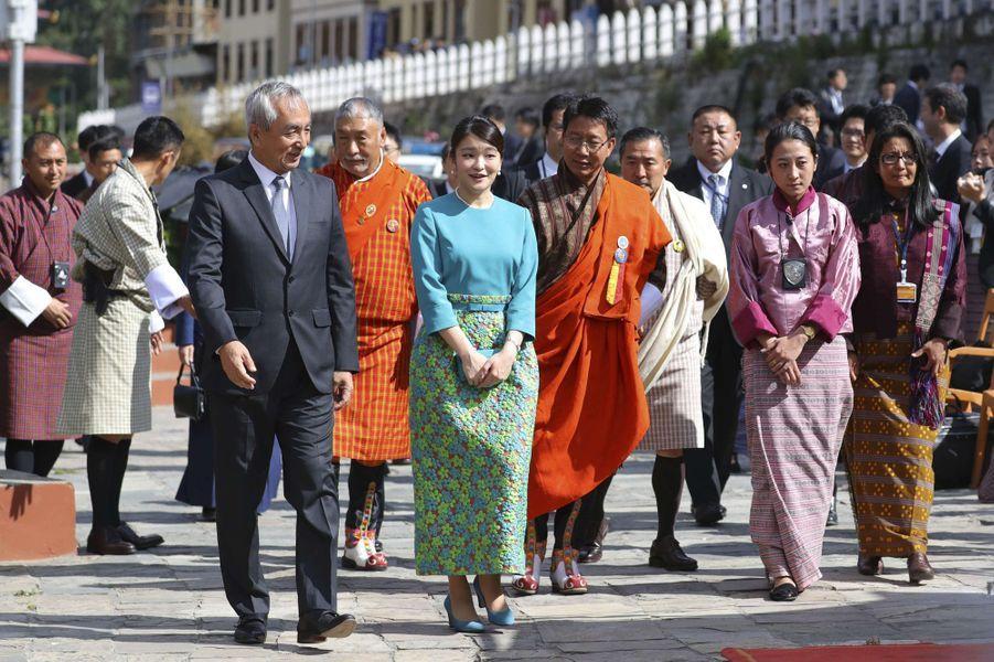 La princesse Mako du Japon à Thimphou, le 1er juin 2017