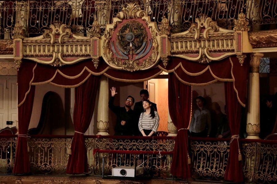 La princesse Mako du Japon à Manaus, le 25 juillet 2018