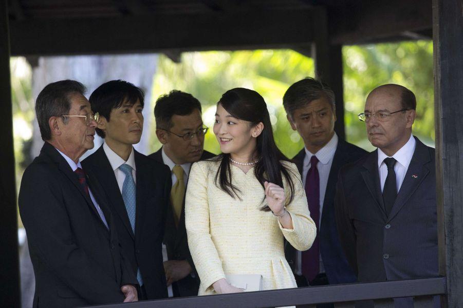 La princesse Mako du Japon à Rio de Janeiro, le 18 juillet 2018