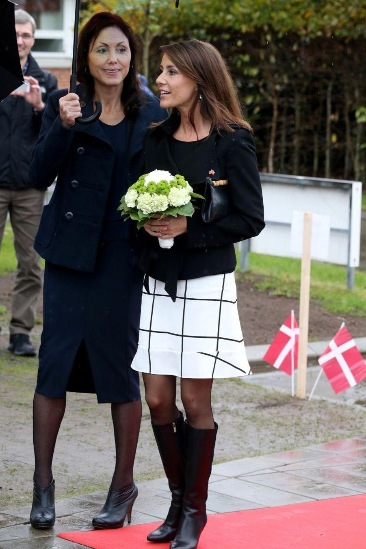 Marie de Danemark auprès des personnes âgées autistes