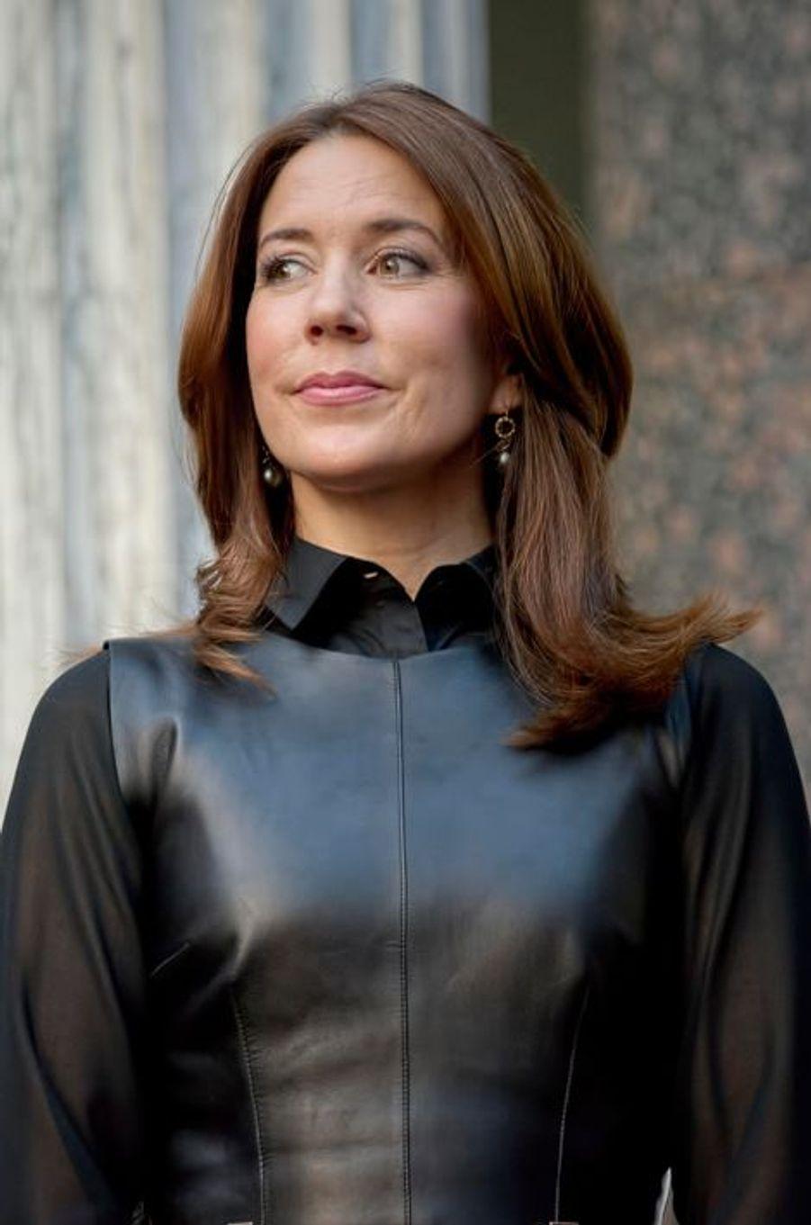 La princesse Mary remet les «Elite Forsk awards» à Copenhague, le 26 février 2015