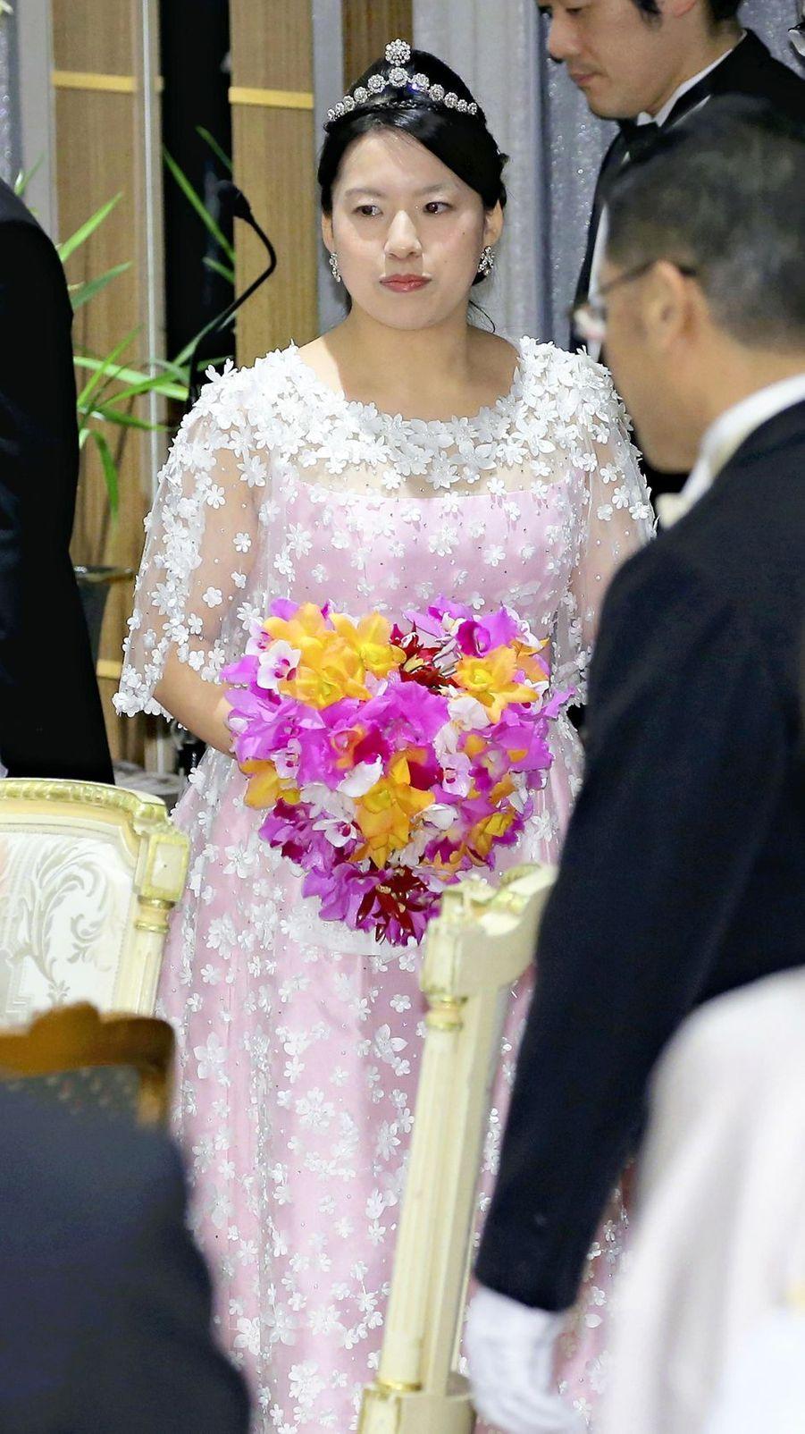La princesse Ayako du Japon à Tokyo, le 30 octobre 2018
