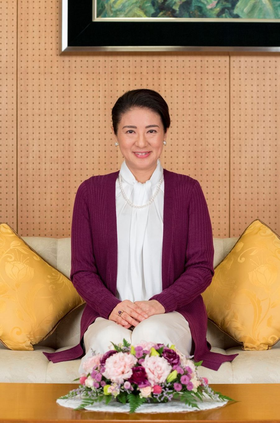 La princesse Masako du Japon à Tokyo le 4 décembre 2018. Photo diffusée pour ses 55 ans le 9 décembre 2018