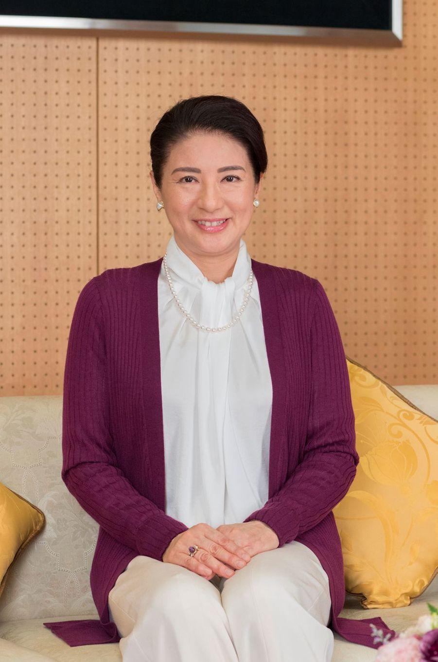 La princesse Masako du Japon le 4 décembre 2018 à Tokyo. Photo diffusée pour ses 55 ans le 9 décembre 2018