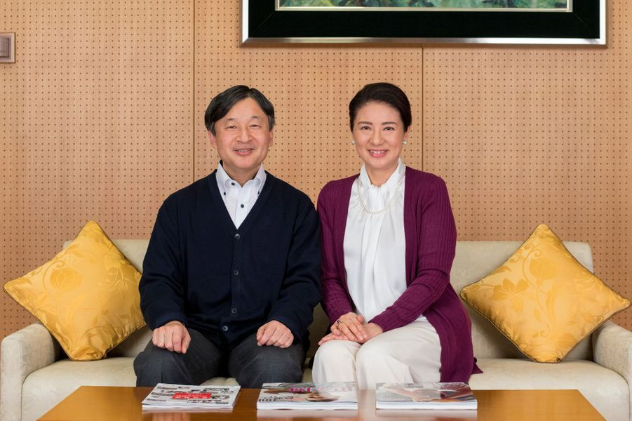 La princesse Masako et le prince Naruhito du Japon, à Tokyo le 4 décembre 2018
