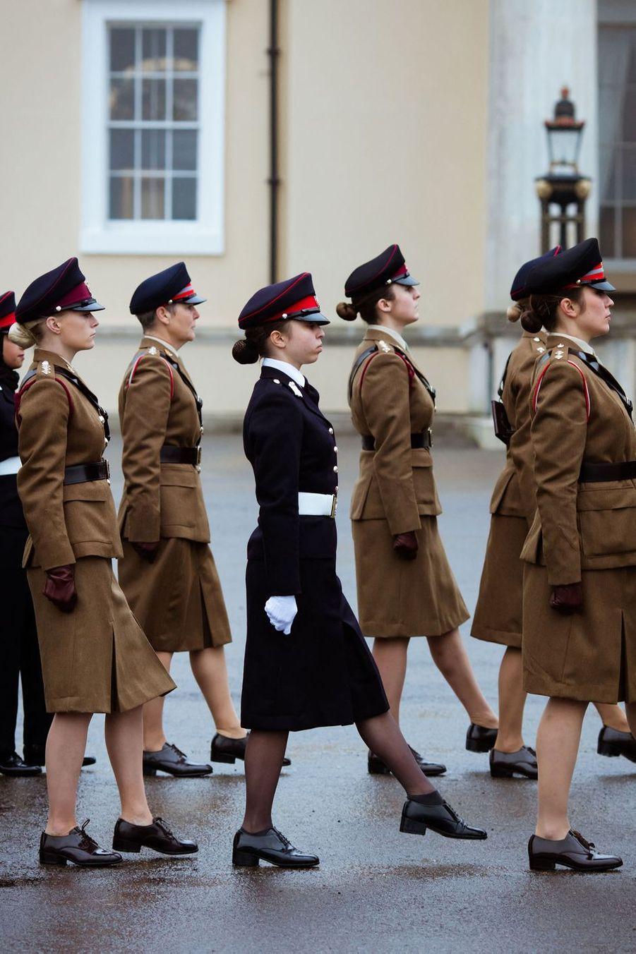 La princesse Salma de Jordanie à Sandhurst, le 24 novembre 2018