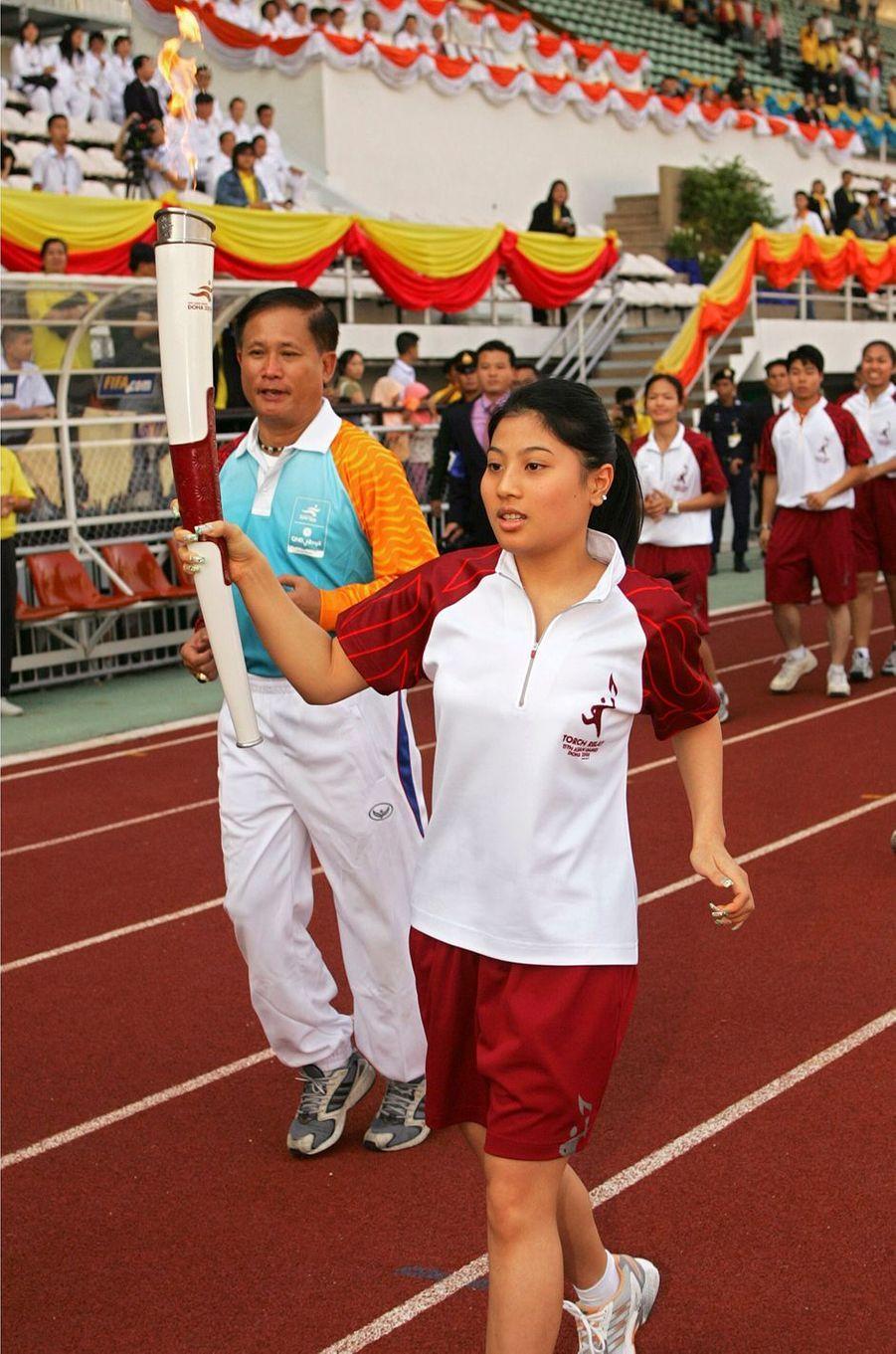 La princesse Sirivannavari Nariratana de Thaïlande à Bangkok, le 5 novembre 2006