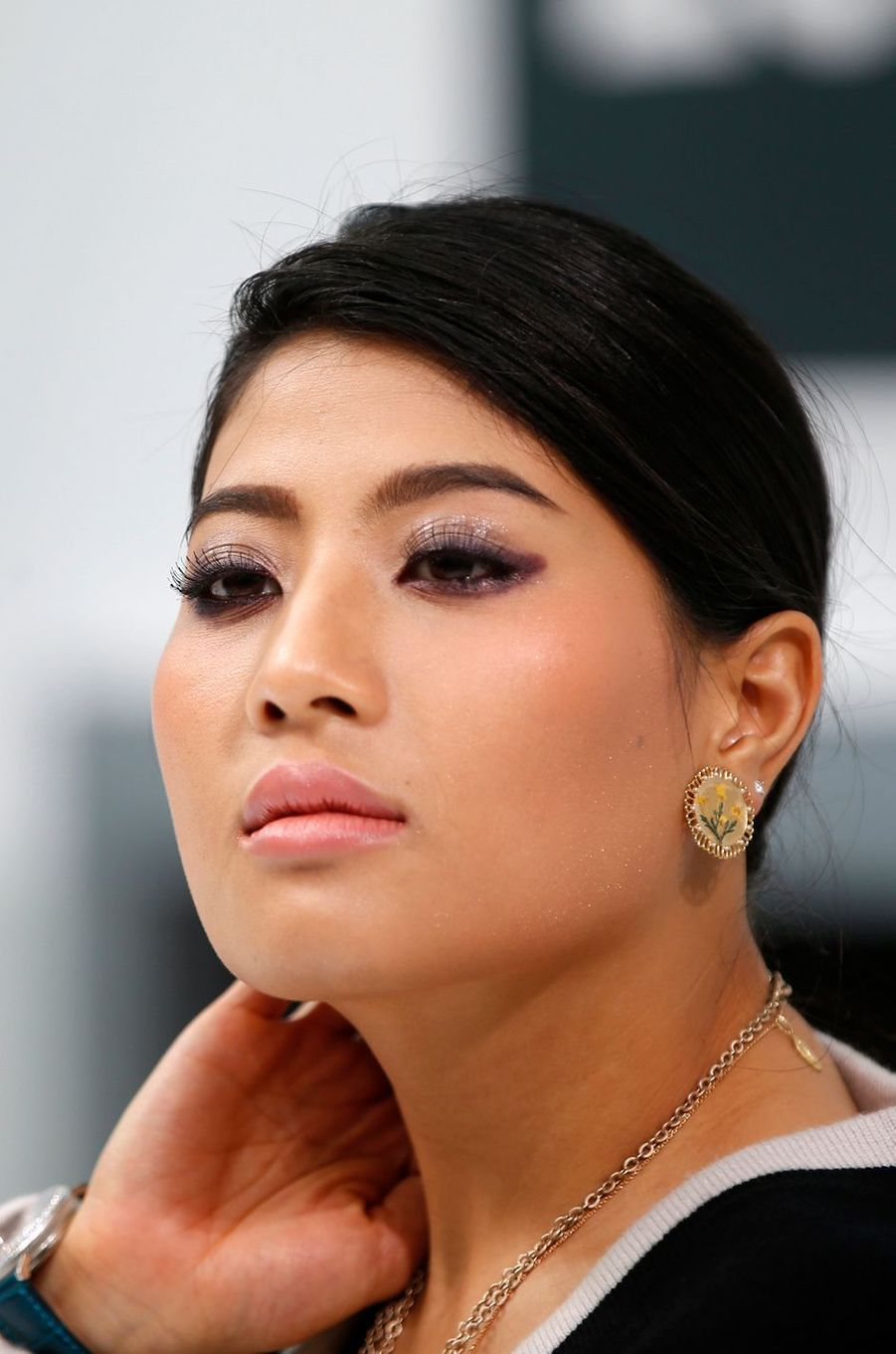 La princesse Sirivannavari Nariratana de Thaïlande à Paris, le 6 octobre 2015