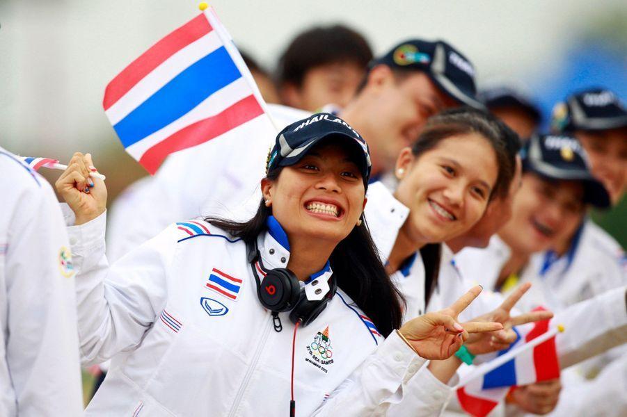 La princesse Sirivannavari Nariratana de Thaïlande au Myanmar, le 10 décembre 2013