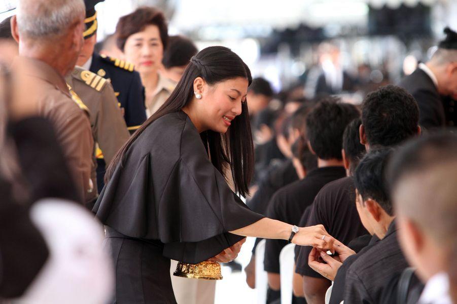 La princesse Sirivannavari Nariratana de Thaïlande à Bangkok, le 24 novembre 2016