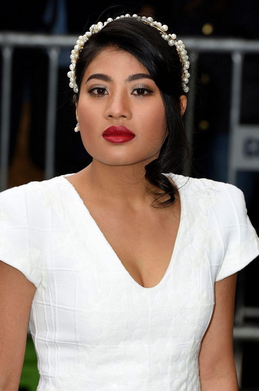 La princesse Sirivannavari Nariratana de Thaïlande à Paris, le 10 mars 2015