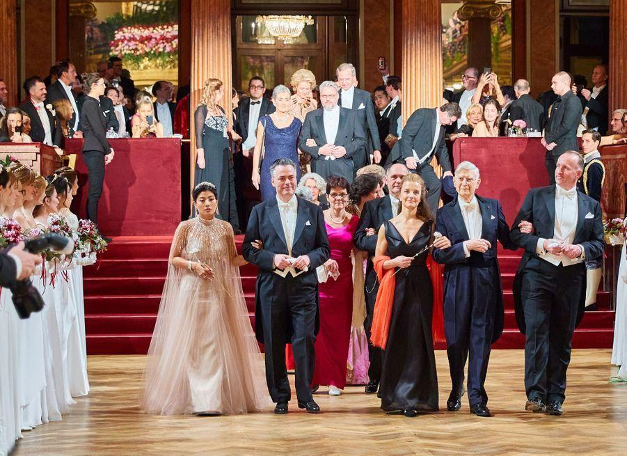 La princesse Sirivannavari Nariratana de Thaïlande au bal de la Philharmonie de Vienne, le 23 janvier 2020