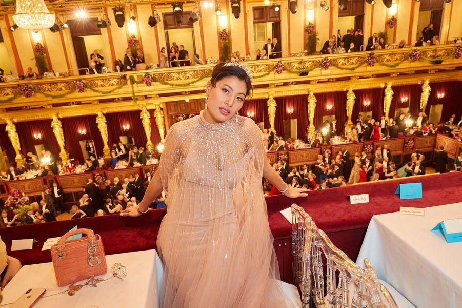 La princesse Sirivannavari Nariratana de Thaïlande à Vienne en Autriche, le 23 janvier 2020