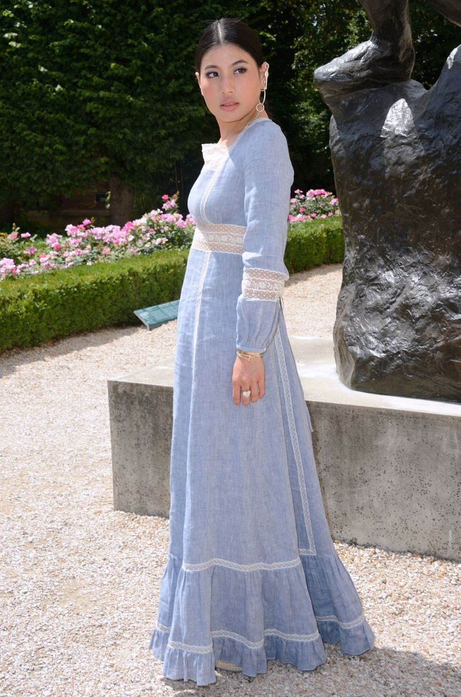 La princesse Sirivannavari Nariratana de Thaïlande à Paris, le 2 juillet 2018