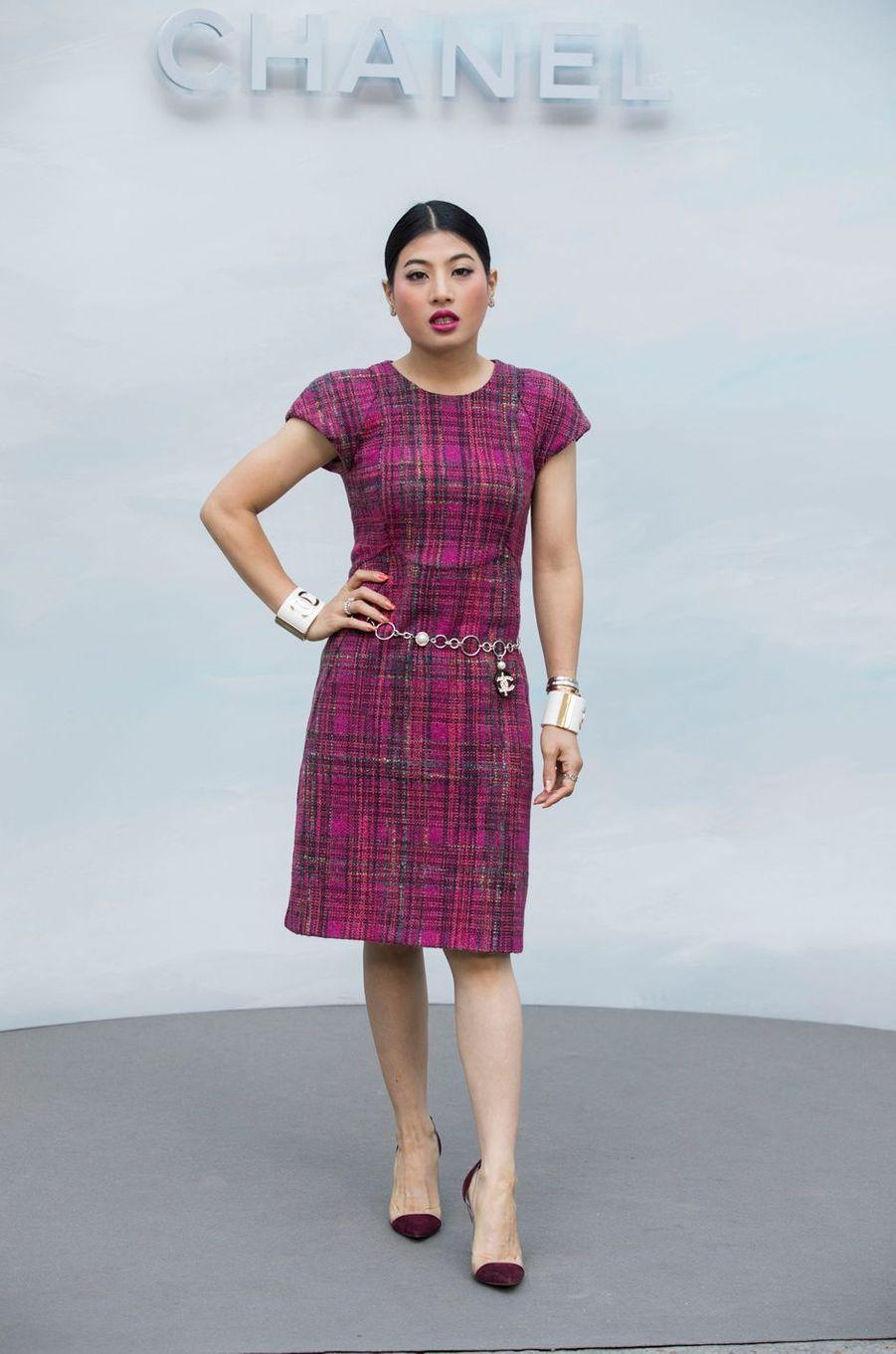 La princesse Sirivannavari Nariratana de Thaïlande à Paris, le 3 juillet 2018