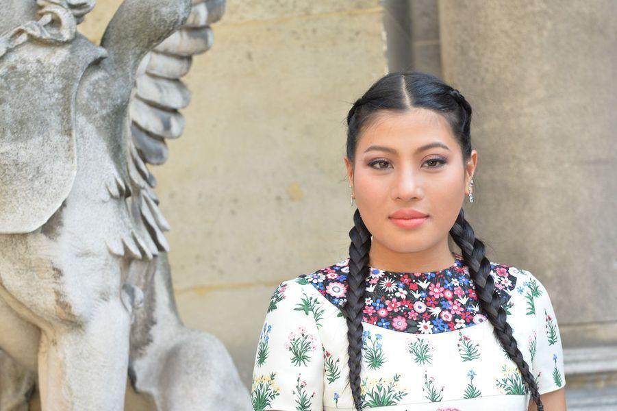 La princesse Sirivannavari Nariratana de Thaïlande à Paris, le 6 juillet 2016
