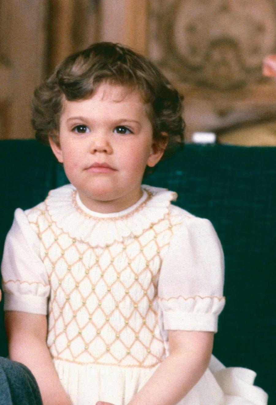 La princesse Victoria en 1980